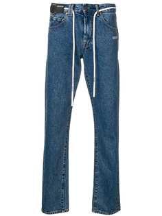 Off-White джинсы кроя слим