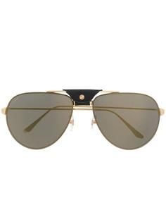 Cartier Eyewear солнцезащитные очки-авиаторы