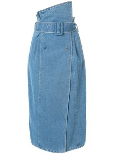 37021e8f0817 Anna October джинсовая юбка асимметричного кроя