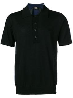 Nº21 трикотажная рубашка-поло