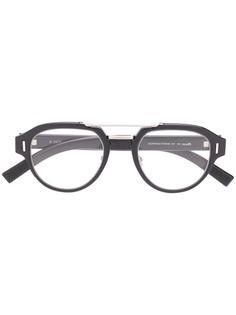 Dior Eyewear очки в круглой оправе
