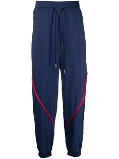 Versace Jeans Couture спортивные брюки с контрастной окантовкой