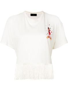 Alanui футболка с вышивкой