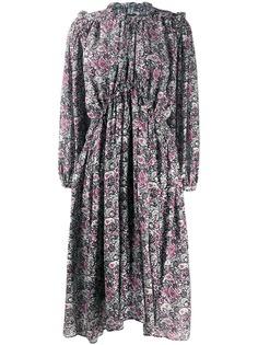 Isabel Marant расклешенное платье с принтом пейсли
