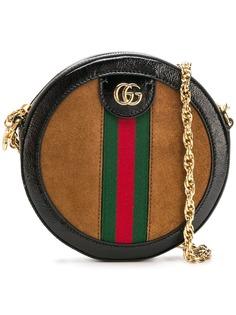 Gucci круглая мини-сумка на плечо Ophidia