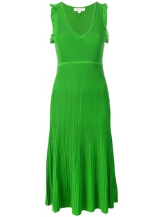 Michael Michael Kors платье миди в рубчик