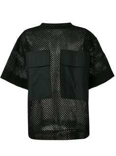 OAMC сетчатая футболка