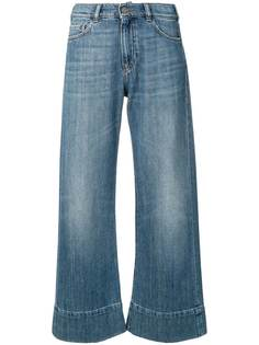 Emporio Armani джинсы широкого кроя