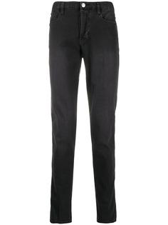 Emporio Armani джинсы кроя слим с выцветшим эффектом