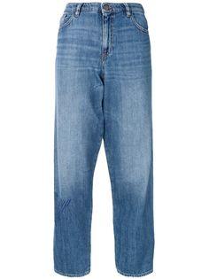 Emporio Armani джинсы свободного кроя с логотипом
