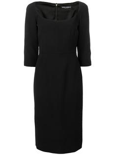 Dolce & Gabbana платье миди кроя слим