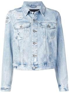 Diesel выбеленная джинсовая куртка