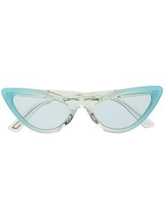 Diesel солнцезащитные очки в оправе кошачий глаз