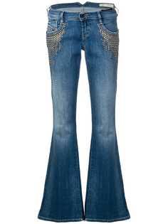 Diesel расклешенные джинсы