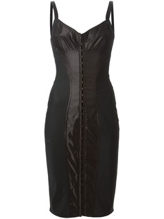 Dolce & Gabbana облегающее платье-корсет