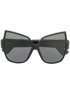 Moschino Eyewear солнцезащитные очки с логотипом