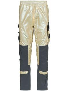 Stone Island светоотражающие брюки 315M1
