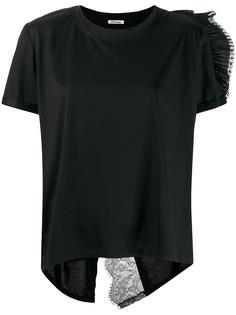 Parlor футболка с кружевом
