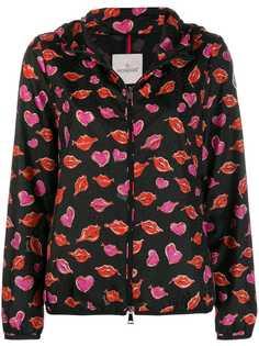 Moncler куртка с принтом