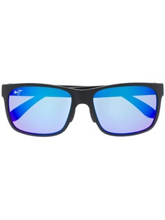 Maui Jim солнцезащитные очки в квадратной оправе