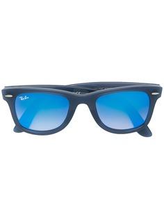 Ray-Ban солнцезащитные очки Wayfarer с тонированными линзами
