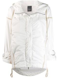 Lorena Antoniazzi куртка-дождевик с капюшоном