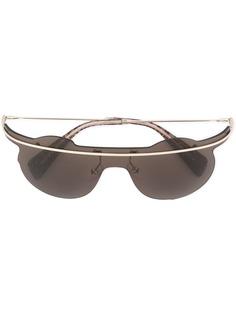 Yohji Yamamoto солнцезащитные очки-авиаторы