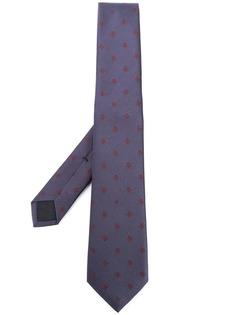 Gucci галстук с узором из пчел и звезд