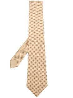 Hermès Pre-Owned галстук в мелкую точку