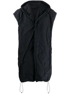 NILøS пальто с капюшоном без рукавов