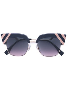 Fendi Eyewear солнцезащитные очки вайфареры Waves