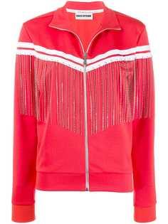 Each X Other спортивная куртка с бахромой и кристаллами