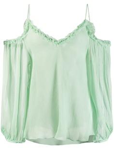 Stella McCartney блузка с открытыми плечами