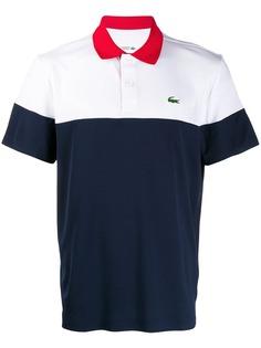 Lacoste рубашка-поло в стиле колор-блок
