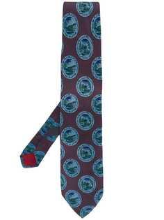 Valentino Pre-Owned галстук 1990-х годов с принтом