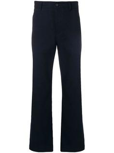 Acne Studios брюки прямого кроя