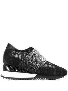 Le Silla кроссовки со стразами
