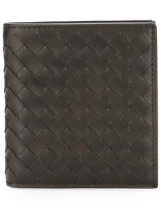 Bottega Veneta бумажник с плетением Intrecciato