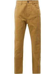 Lanvin панельные джинсовые брюки