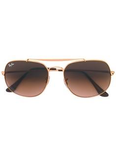 Ray-Ban солнцезащитные очки с градиентным узором