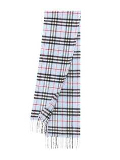 Burberry Kids кашемировый шарф в клетку Vintage Check
