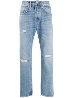 Edwin джинсы прямого кроя с прорезями