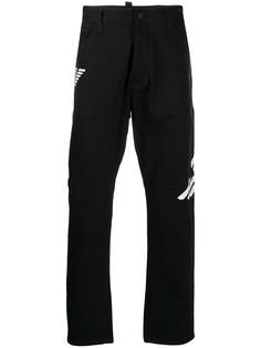 Emporio Armani прямые джинсы с логотипом