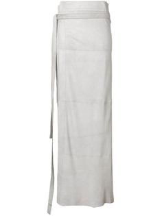 Olsthoorn Vanderwilt длинная юбка с запахом