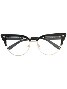 Dsquared2 Eyewear очки в оправе кошачий глаз