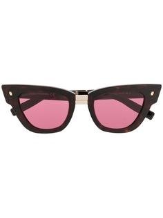 Dsquared2 Eyewear солнцезащитные очки в оправе кошачий глаз