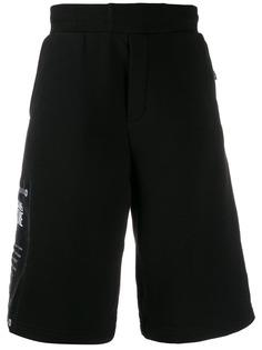 Versace Jeans Couture спортивные шорты с логотипом