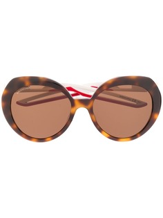 Balenciaga солнцезащитные очки-бабочки Hybrid