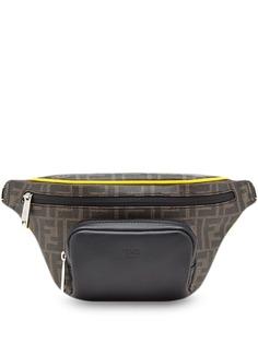 Fendi поясная сумка с монограммой