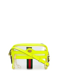 Gucci прозрачная сумка через плечо со вставками